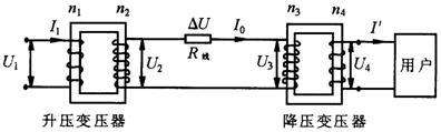 远距离输电原理图
