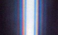 光的衍射典型案例:日光单缝衍射