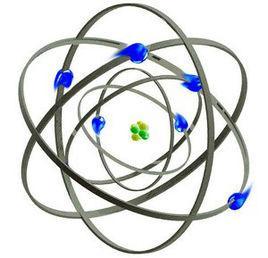 �R瑟福核〓式�Y��模型